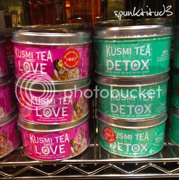 Dean and Deluca Kusmi Tea