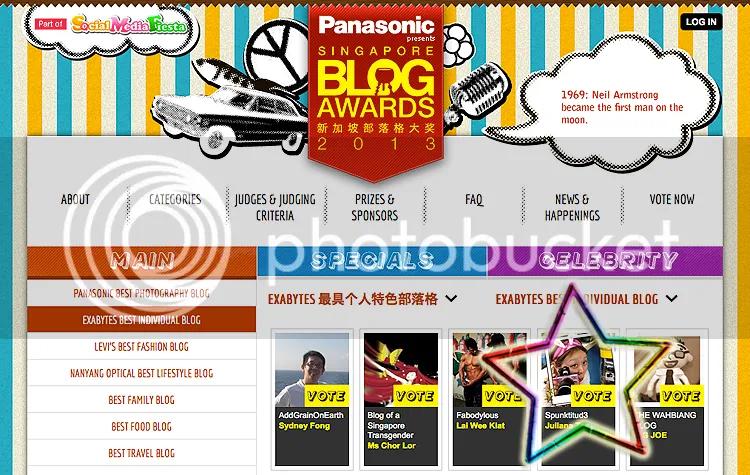 SG Blog Awards