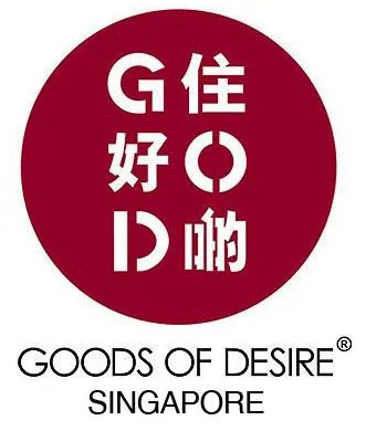 Goods of Desire G.O.D. Singapore Logo