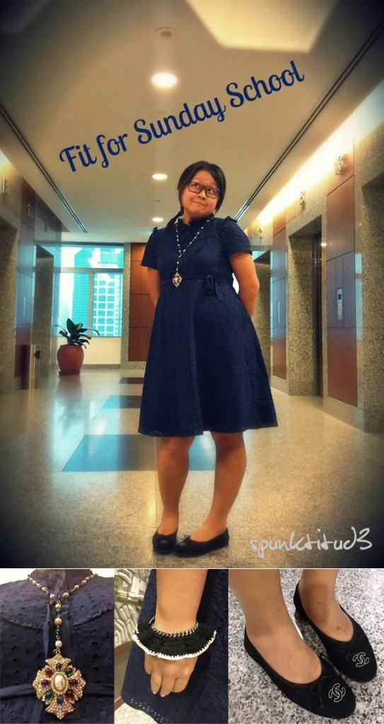 Look of the Day - Fit for Sunday School