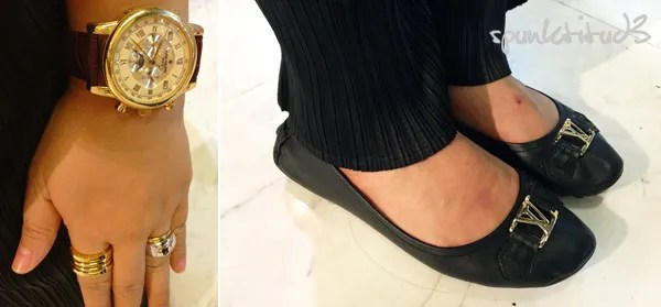 Look of the Day Golden Girl - Shoes