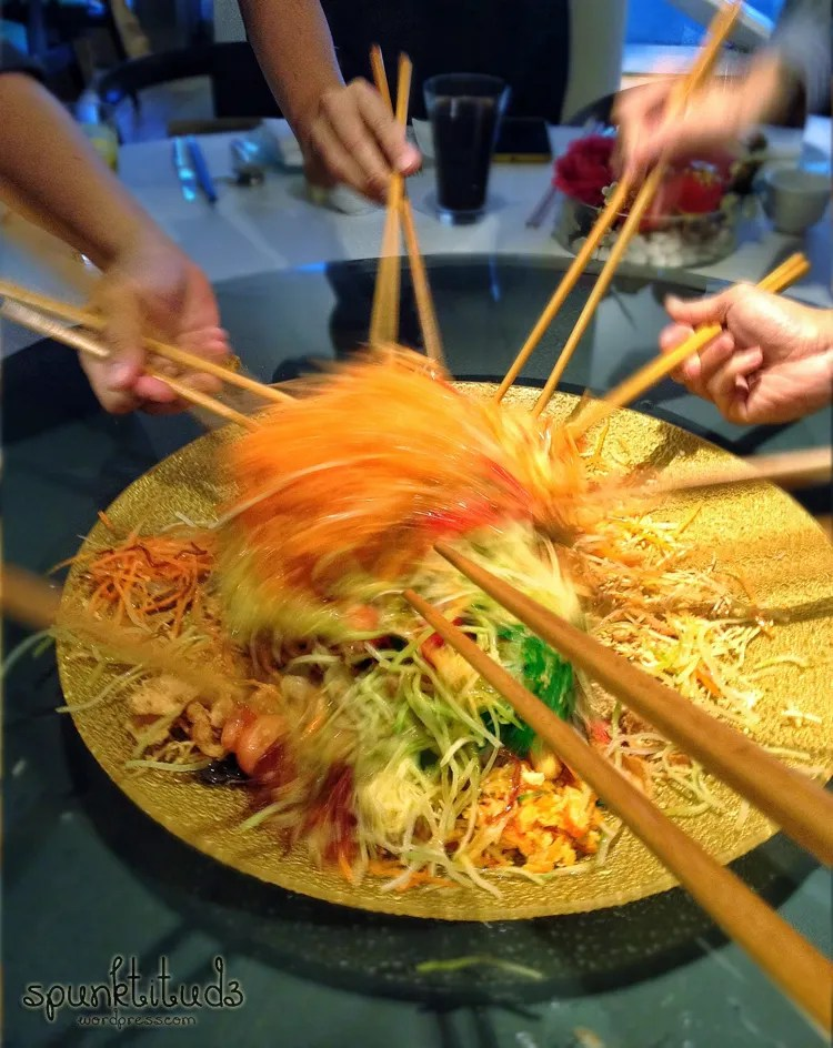 Lo Hei at Majestic Bay
