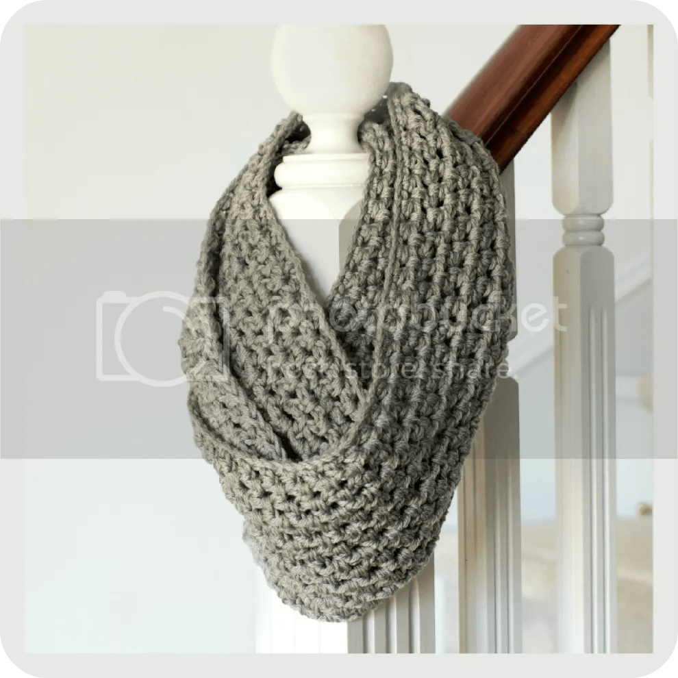 Unique Gift ~ Infinity Scarf Pattern