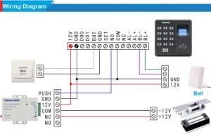 Biometric Fingerprint & 125KHz RFID Card Reader Access