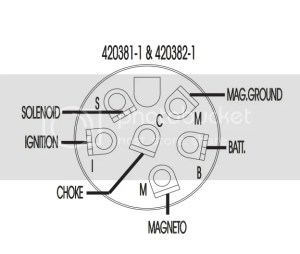 Wiring 1964 28hp Johnson ignition switch Page: 1  iboats