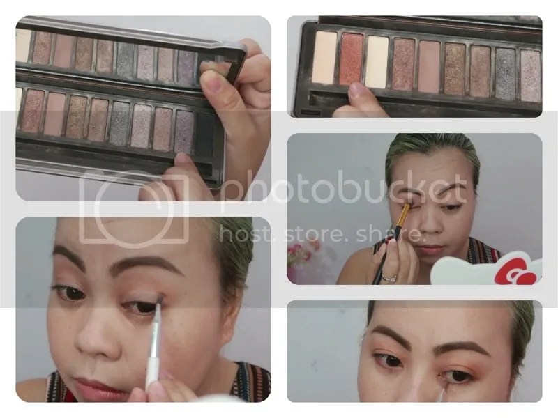 Bys Nude 2 Eyeshadow Palette Makeup transformation