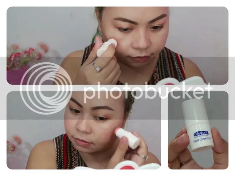 Celeteque Dermo Cosmetics Cheek Colour Stick Swatches