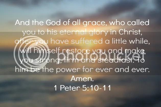 1 Peter 5:10-11