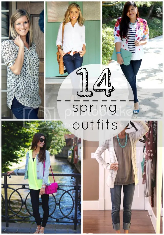 spring style - 14 outfts