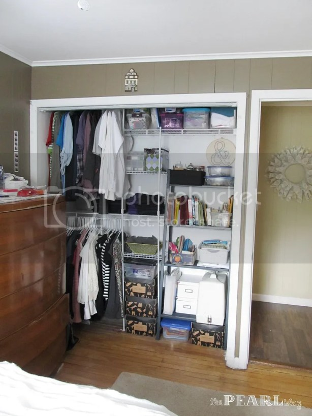 5 ft. - 8 ft. Closet Organizer with Shoe Rack
