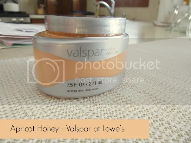 Valspar Apricot Honey from Lowe's