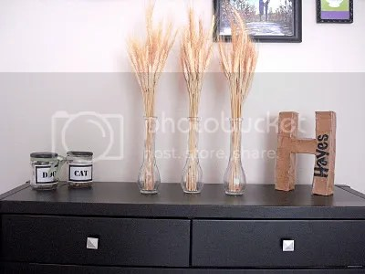 wheat fall decor