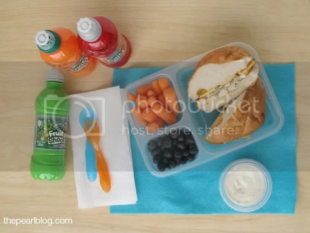 robinson's fruitshoot lunch #ad #spon