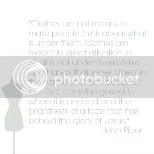 john piper modesty