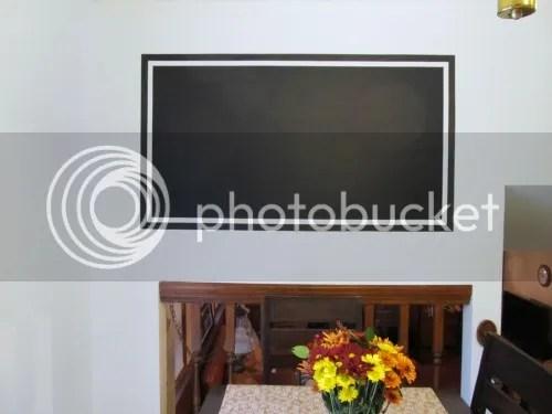 Chalk paint frame