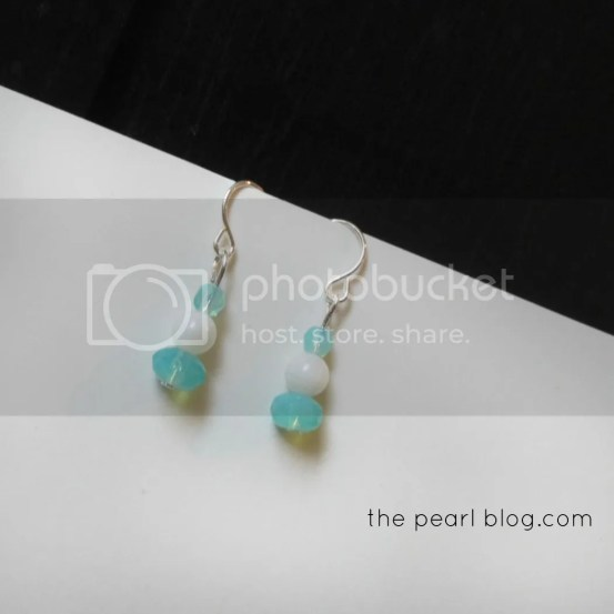 DIY bead earrings