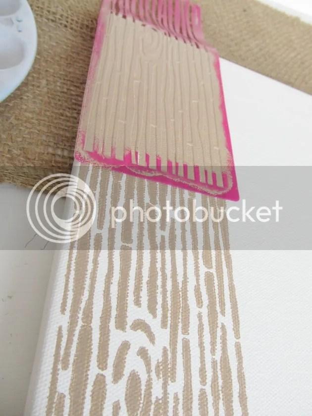 mod podge stencil contiune