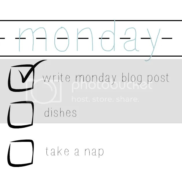 monday to do list