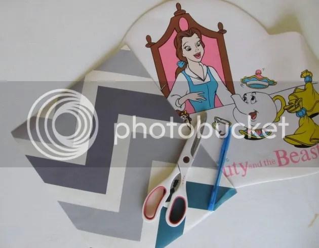DIY mouse pad supplies