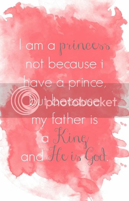 i am a princess becuase