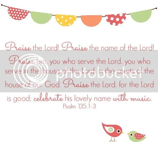 Psalm 135:1-3