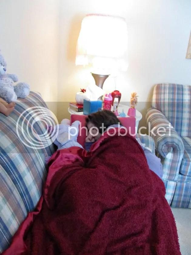 sick kiddo #KleenexTarget  #PMedia #ad