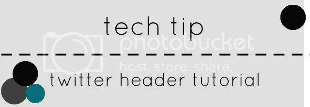 twitter header - tech tip tutorial