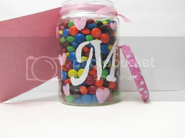 M & M valentine teacher gift