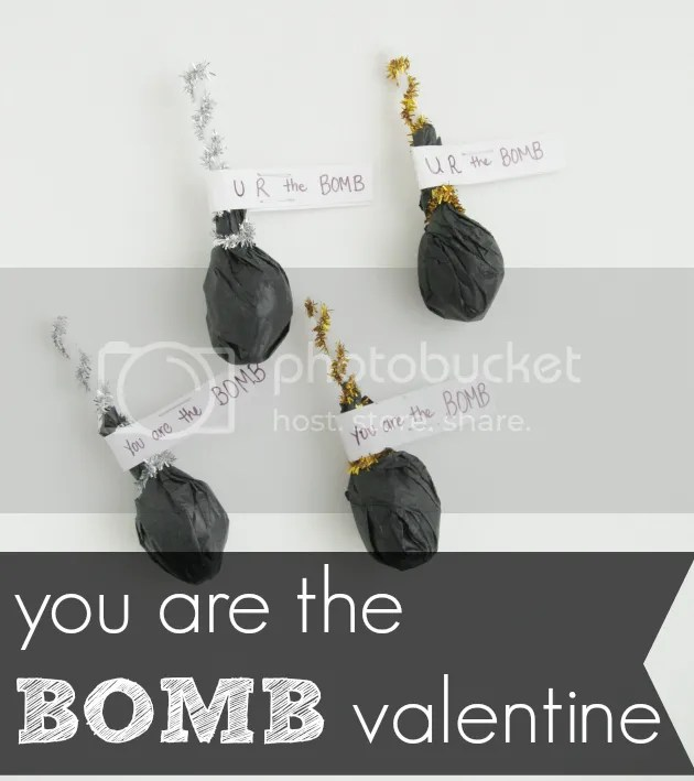 you are the bomb valentine, tutorial by @boermanc on the the pearl blog