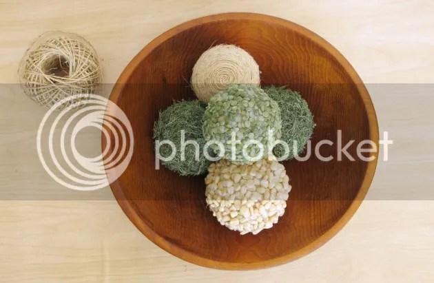 pottery barn knock off decorative balls
