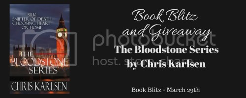 The Bloodstone Series banner