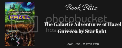 The Galactic Adventures of Hazel Gurecoa banner