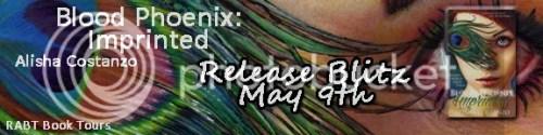 blood phoenix: imprinted banner