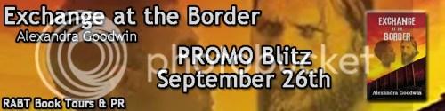 Exchange at the border banner