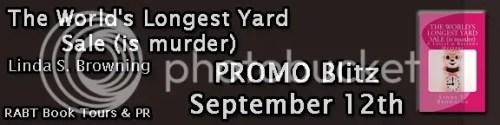 the world's longest yard sale (is murder) banner