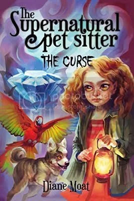 the supernatural pet sitter: the curse cover