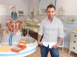 Bodega Shoppe owner Mike Buess in his home design and gift shoppe in Red Bank, NJ