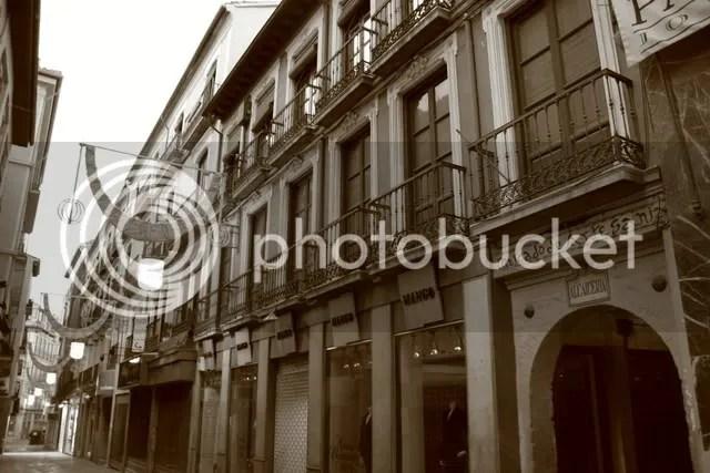 Kedai-kedai di Cordoba, Spain