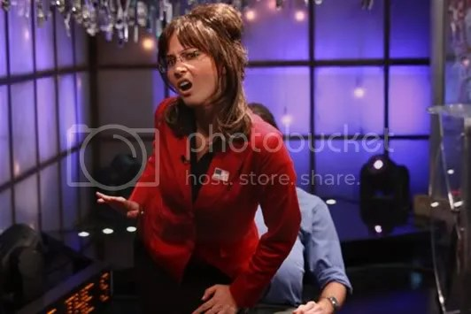 Olivia Munn as Sarah Palin