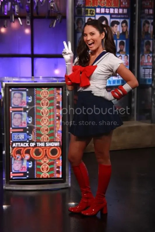 Olivia Munn as Sailor Moon (my favorite)