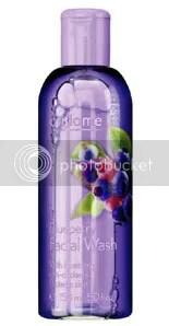 Blueberry facial wash