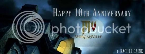The Morganville Vampire's 10th Anniversary – Guest Post: Regarding Myrnin by Rachel Caine