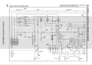 Toyota Corolla 2007 Wiring Diagram | Auto Repair Manual