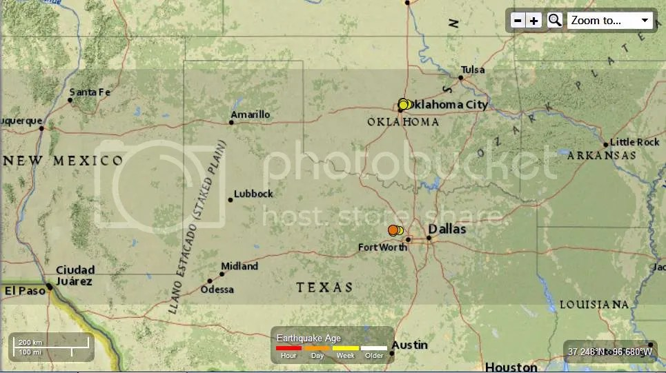 North Texas and South Oklahoma 13 EQin the last  7 days Landslides reported 11-09-2013 photo NorthTexasandSouthOklahoma13EQinthelast7daysLandslidesreported11-09-2013_zps0c59c14d.jpg