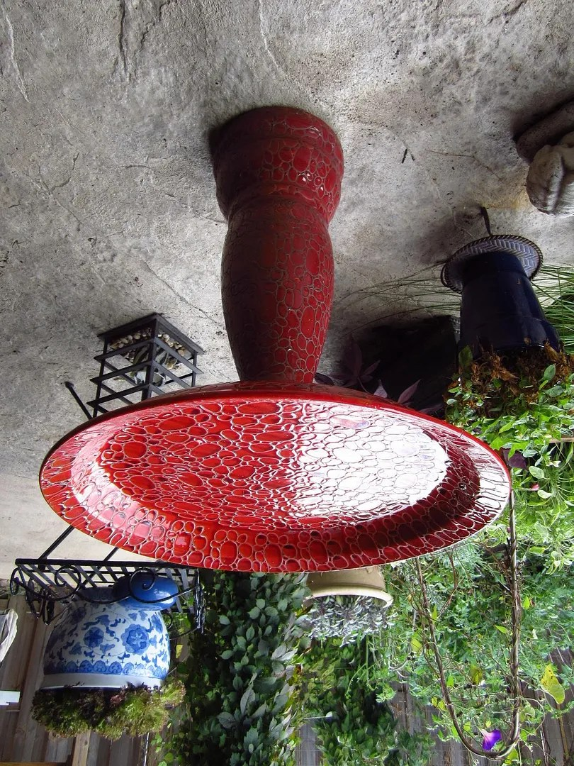Curbside Bird Bath Restored With JB Weld / MyUrbanGardenOasis