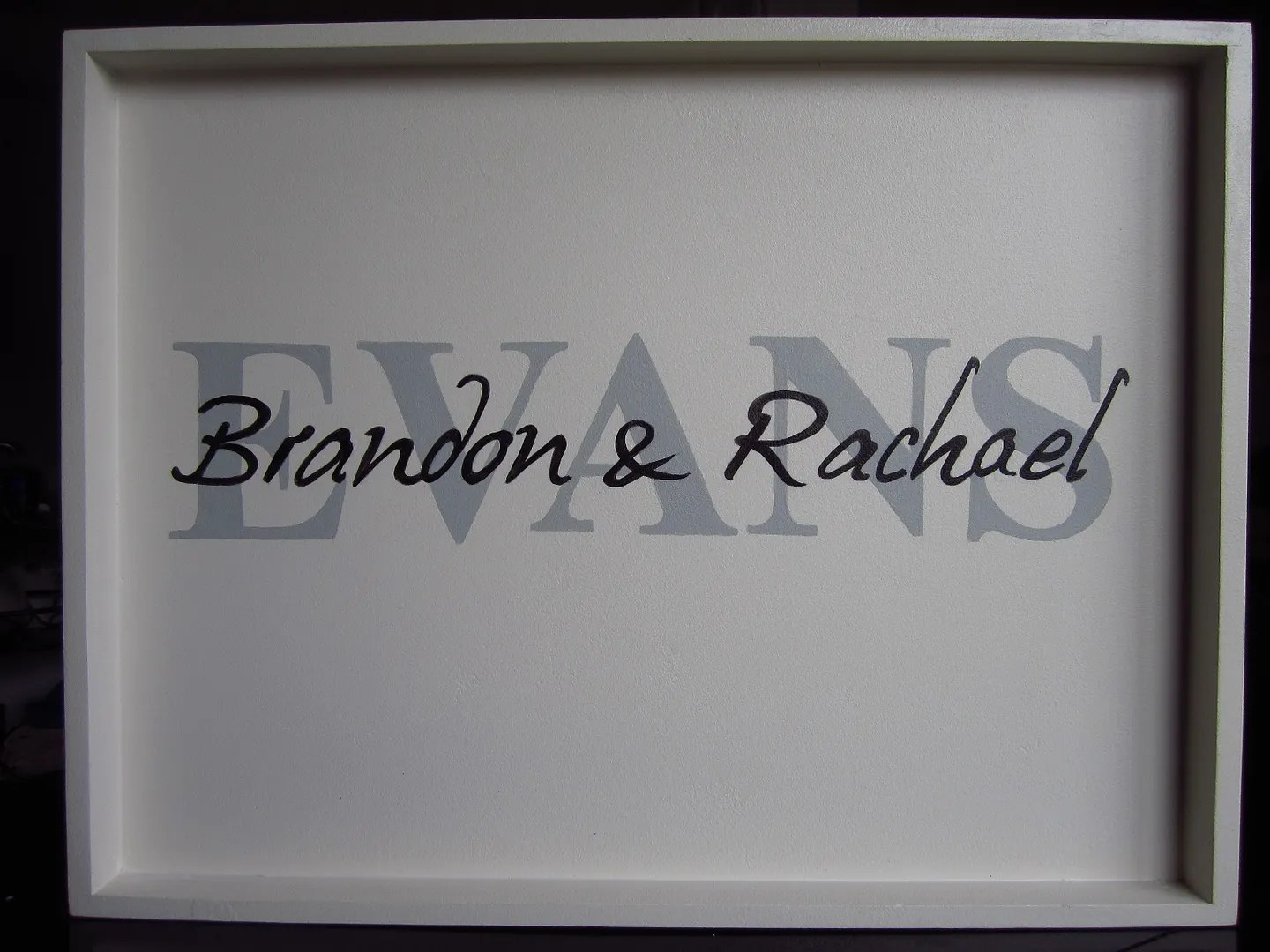DIY Personalized Serving Tray / HomeStagingBloomingtonIL