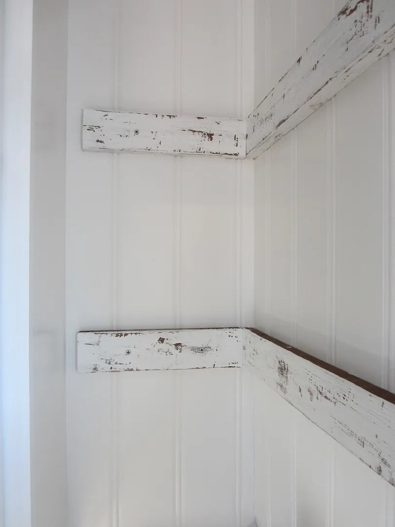 DIY Corbels for Open Shelving/HomeStagingBloommingtonIL