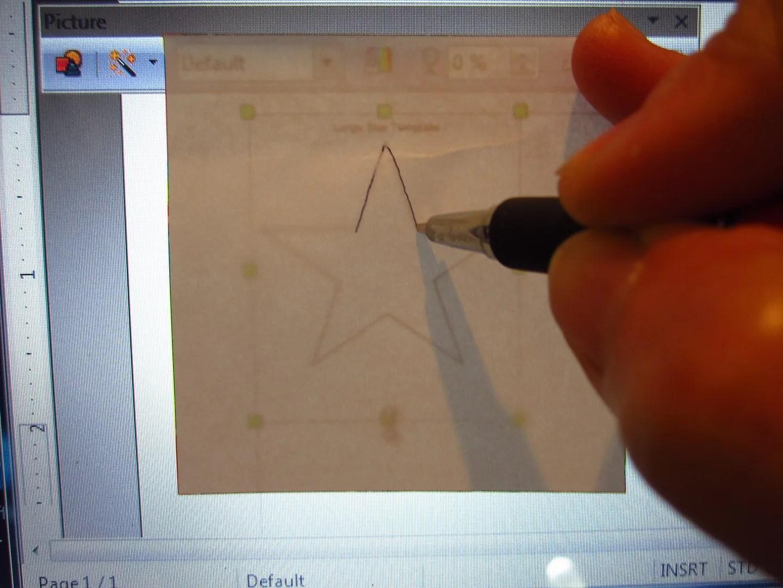 How to Make a Simple Custom Stencil / HomeStagingBloomingtonIL