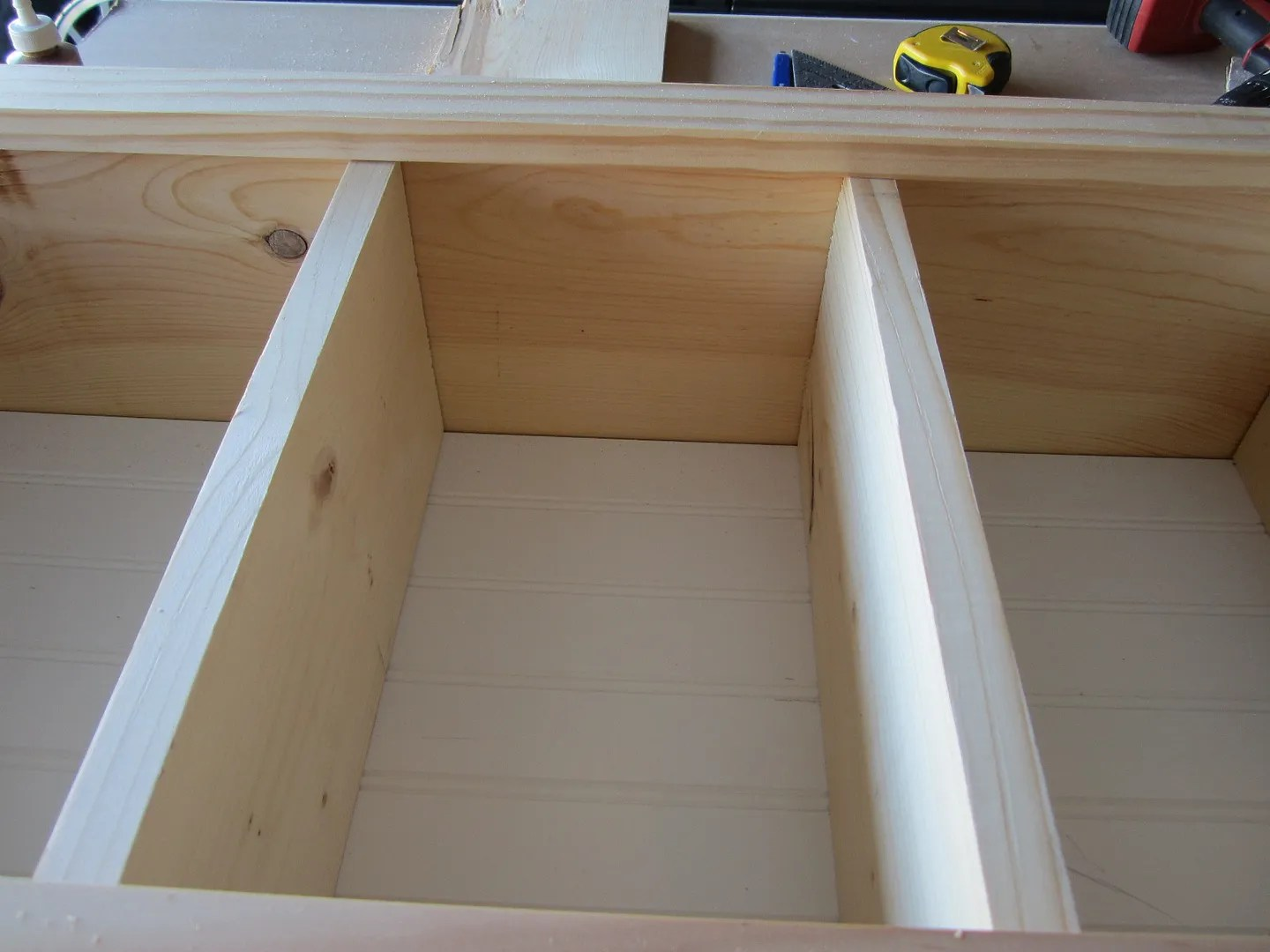 How to Build a Simple Kitchen Cabinet for Open Display / HomeStagingBloomingtonIL