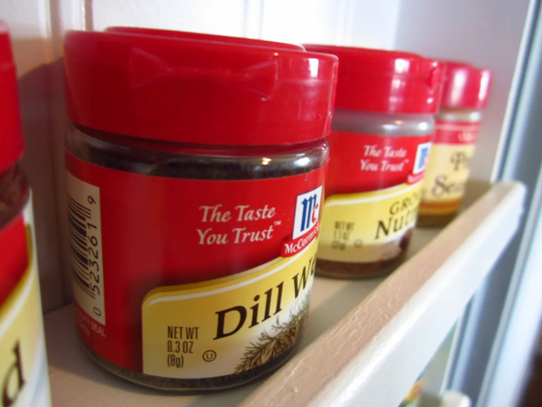 DIY Pantry Spice Rack/HomeStagingBloomingtonIL.wordpress.com